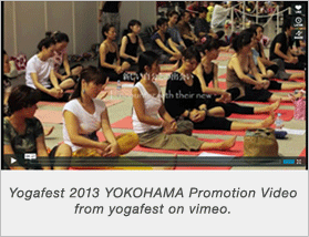 Yogafest 2013 YOKOHAMA Promotion Video