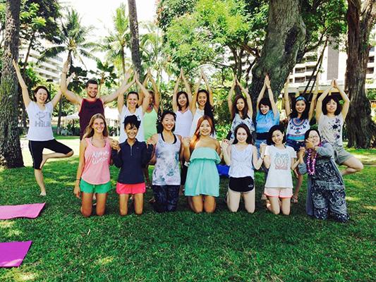 "[09A1] ""HAWAII PALMS ENGLISH SCHOOL ~ハワイパームスイングリッシュスクール~"""
