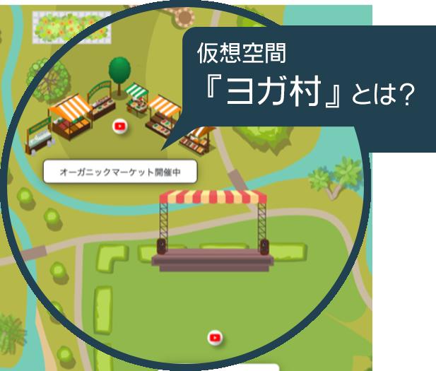 仮想空間『ヨガ村』とは?